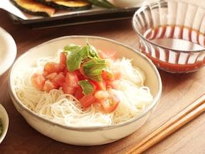 さっぱり爽やか トマトだれのそうめんのレシピ