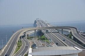 東京湾を横断!東京湾アクアライン・海ほたる