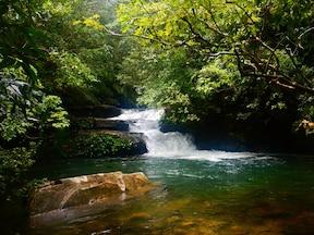 カヌー&滝つぼ!西表島で秘境体験