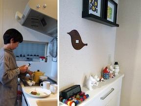 吊り戸棚をつけられなくても片付く収納アイデア
