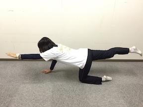 4.姿勢の改善につながる