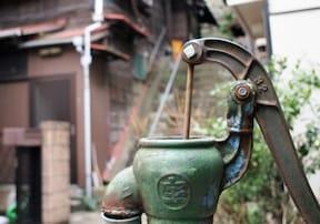 本郷の菊坂下道にある樋口一葉が使ったかもしれない井戸