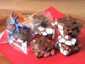 ザクザク食感のマシュマロチョコバー