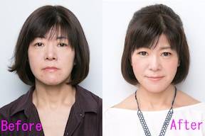 「手抜き顔」を今風のナチュラルメイクに変えるテクニック