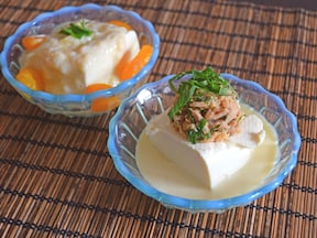 豆腐で簡単夏バテ対策!野菜とフルーツの冷奴