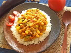 15日目:夏野菜カレー(30分)
