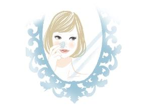 特にテカりやすい小鼻は、拭き取り化粧水を使う