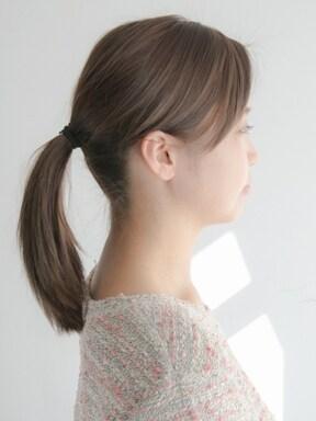 「紐ゴム」でキレイに髪を結ぶ方法