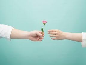 チョコがはいっているのは小さなボックスではなく…韓国のバレンタイン