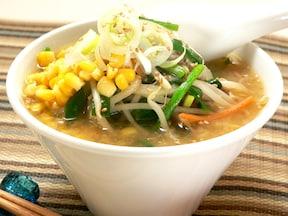 どうしても食べい時に!麺を豆腐に置き換え!ヘルシー味噌ラーメン