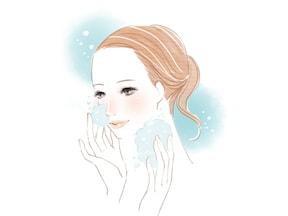 泡のクッションでとにかく優しく、丁寧に洗うこと!