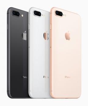 iPhone 8/8 Plus(ドコモ/au/ソフトバンク)