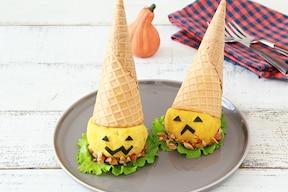 レンジで簡単!かぼちゃとクリームチーズのサラダ
