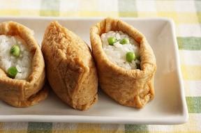 2種類のいなり寿司