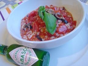 15分で簡単ヘルシー!南欧風トマトスープリゾット