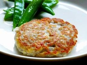 肉も卵も使わないレンコン豆腐ハンバーグ