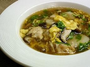 黒酢入り中華スープ