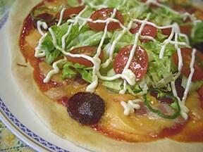 簡単! ホットケーキミックスで作るピザ