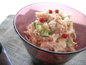 レンジで時短!簡単コンビーフのポテトサラダ
