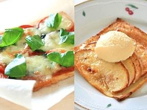 人気のピザレシピもサンドイッチ用のパンで簡単に完成!