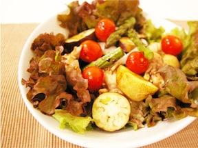 チキンとたっぷり野菜のオーブン焼