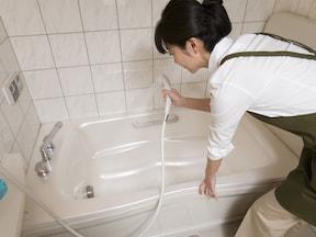 「フローリングワイパー」お風呂場の湿気を除去