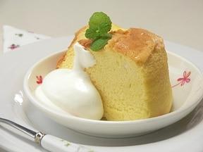 しっとり♪豆乳をつかった「シフォンケーキ」お菓子レシピ