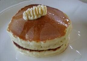 ミックス粉を使わない、ホットケーキ