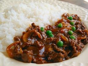 薄切り肉で簡単ハヤシライス
