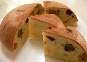 炊飯器で簡単さつまいもケーキ