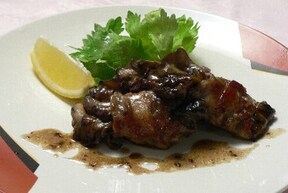 舞茸と豚肉のご馳走風レシピ