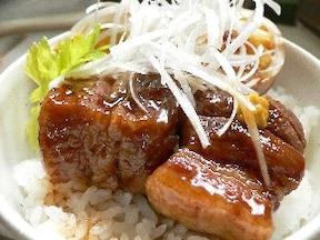サクッと仕込む豚の角煮丼