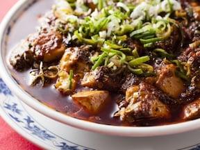 熱々の中華料理を食べる!