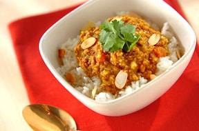 カレー粉と味噌で作るキーマカレー簡単レシピ