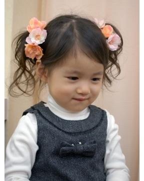 女の子向け 簡単にできる結婚式 パーティーの髪型 ヘアアレンジ