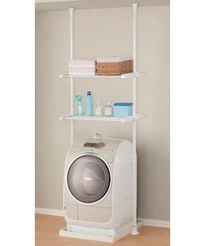 ニトリ「つっぱり洗濯機ラック」
