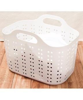 無印 洗濯 カゴ