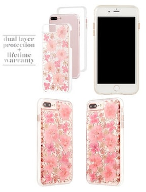 Case-mate iPhone 8 Plus / 7 Plus / 6s Plus / 6 Plus Karat Petals Case