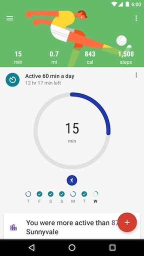 Google Fit【Android】