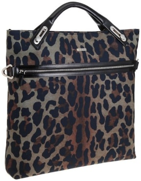 Leopard Suede NS Shopper/abbi new york(アビィ・ニューヨーク)