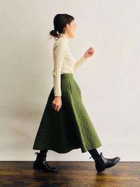 ふんわりしたサイズ感と生地感がオシャレなスカートがユニクロ