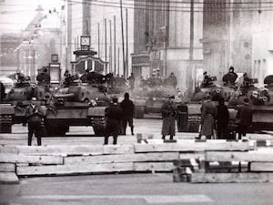 1961年検問所の様子