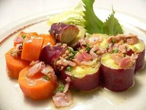 炊飯器でつくるホットサラダ