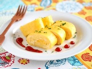 洋風チーズ卵焼き