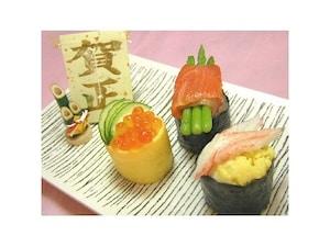 おもてなし寿司3品