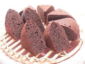 お豆腐ココアケーキ