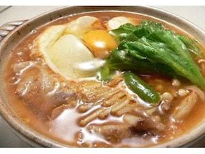 韓国風豆腐鍋 スンドゥブチゲ