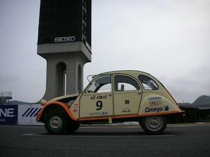 カリオストロの城で有名なクラリスの愛車「シトロエン2CV」