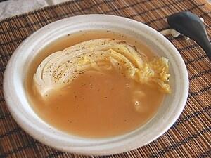 まるごと白菜スープ