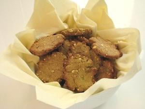 アボカドのおからクッキー